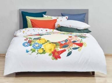 christian fischbacher bettw sche bouquet satin. Black Bedroom Furniture Sets. Home Design Ideas