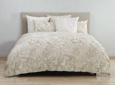 christian fischbacher bettw sche malabar braun lasiala. Black Bedroom Furniture Sets. Home Design Ideas