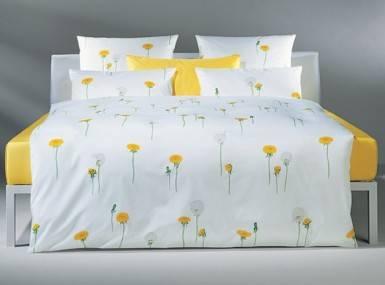 christian fischbacher bettw sche satin pusteblume. Black Bedroom Furniture Sets. Home Design Ideas