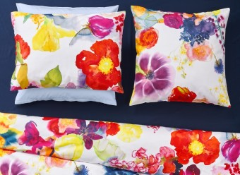 Christian-Fischbacher-Bettwäsche-Flower-Power-Satin