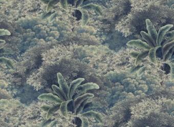 Christian-Fischbacher-Tapete-Palmeria-grün