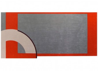 Christian-Fischbacher-Teppich-En-Vogue-Premium-Merinowolle-grau-rot
