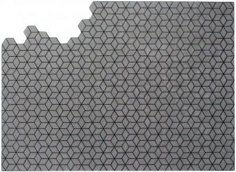 Christian-Fischbacher-Teppich-Metamorphose-Merinowolle-grauviolett-schwarz
