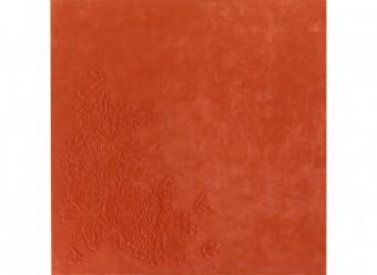 Christian-Fischbacher-Teppich-Mono-Merinowolle-orange