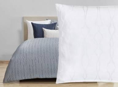 Vorschaubild christian fischbacher bettwaesche artemis jaquard blanc