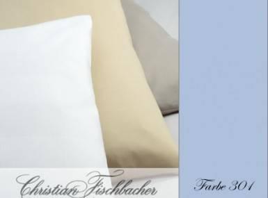 Vorschaubild christian fischbacher bettwaesche jersey uni 301 hellblau