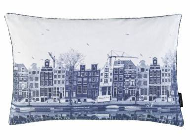 Vorschaubild christian fischbacher nederlands dekokissen blau weiss