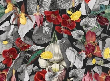 Vorschaubild christian fischbacher tapete gardenia 200340 detail1
