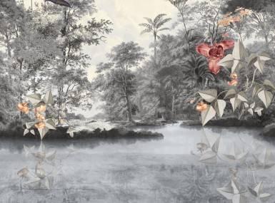 Vorschaubild christian fischbacher tapete newtopia grau 200338 detail1