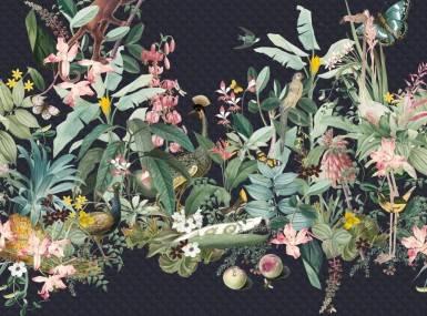Vorschaubild christian fischbacher tapete so avantgardening blau 200336 detail1