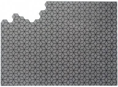 Vorschaubild christian fischbacher teppich metamorphose merino treasures 067 006