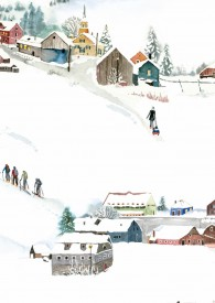 Fischbacher Bettwäsche mit Winter Motiven