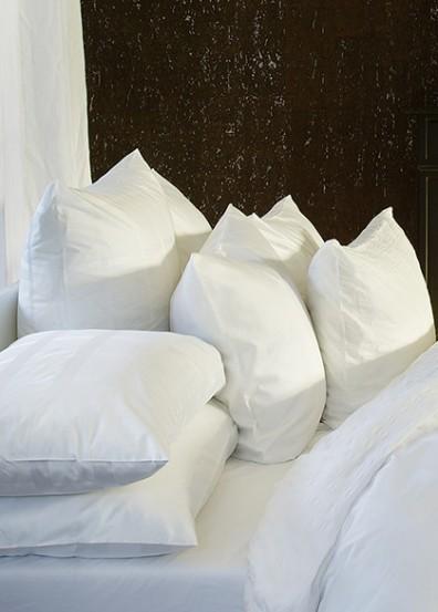 Weiße Fischbacher Bettwäsche