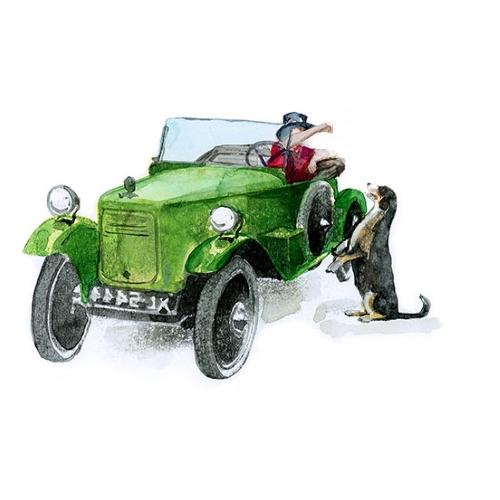 Bettwäsche Rallye 1922 BSA 1075 cc