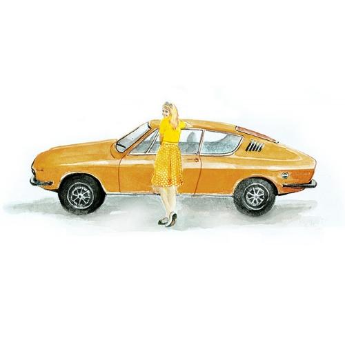 Bettwäsche Rallye Audi 100 Coupe S 1973-1976